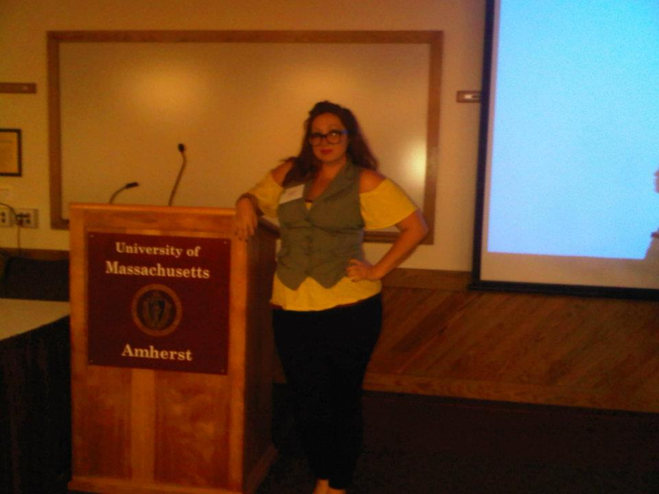 Ashley M. Richter presenting at UMass: Amherst's 2012 High Tech Heritage conference