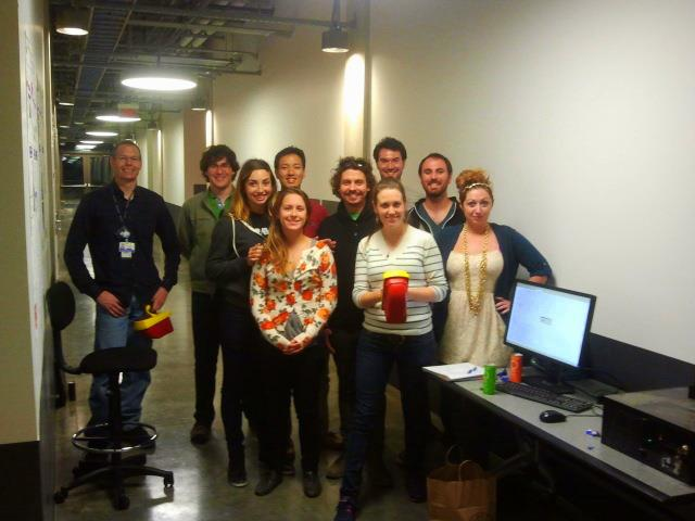 Vid Petrovic, Ashley M. Richter, and their CISA3 and CURII colleagues at the x-ray workshop at UCSD.