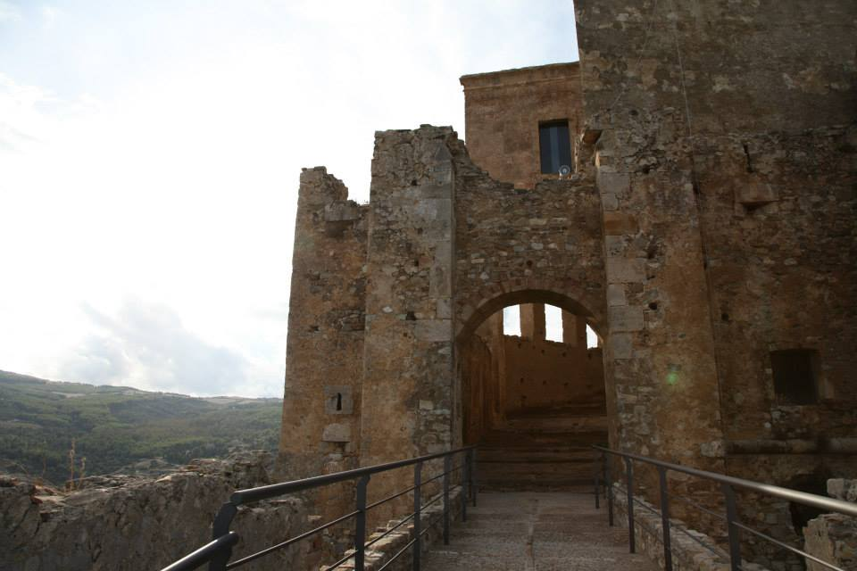 The Front Gate of Castello Svevo di Rocca Imperiale