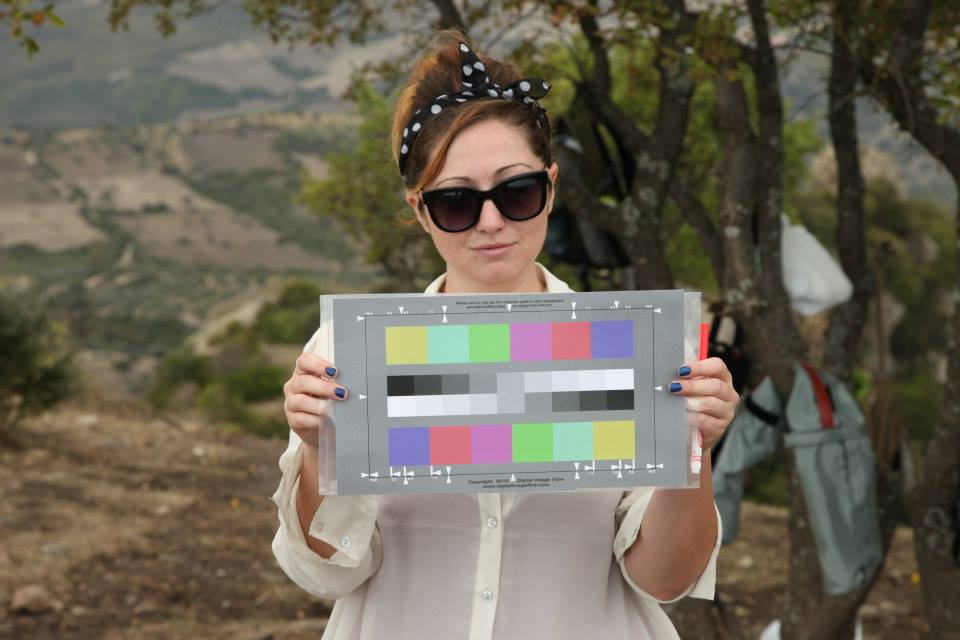 Color calibration by Ashley M. Richter at Murgie di Santa Caterina.