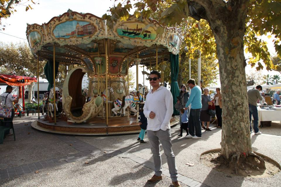 Vid Petrovic and the Cannes Carousel.