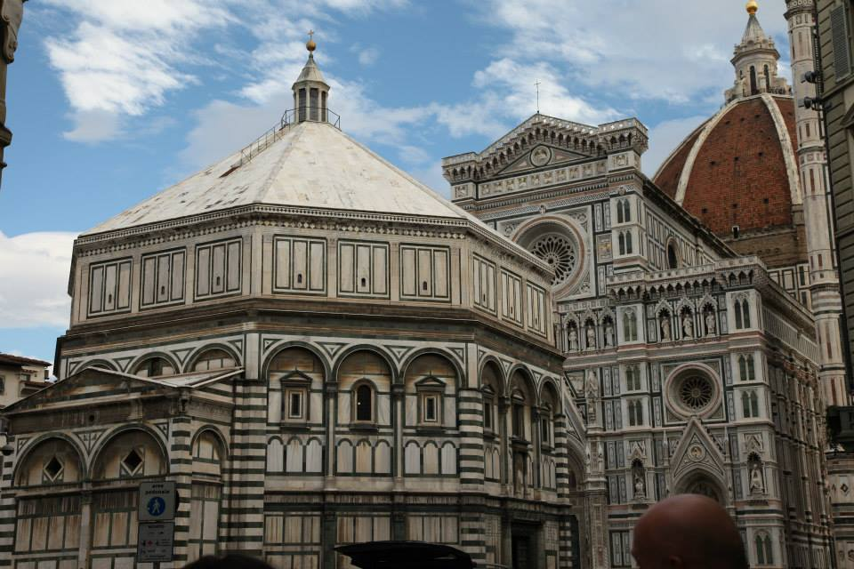 The Baptistery of St. Giovanni, Florence.