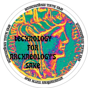 tyche coin with text